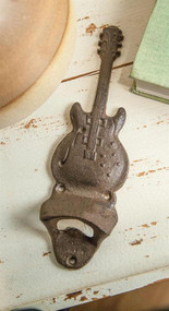 Cast Iron Guitar Bottle Opener (IMFSGU)
