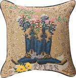 Texas Bluebonnets in Boots Pillow (TLBONN)