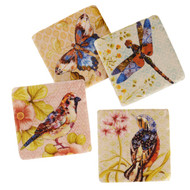 Watercolor Wings Coasters (Set of 4) (RMCSWW)