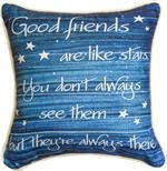 Good Friends are Like Stars Pillow (SDPFLS)