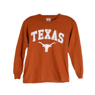 Texas Longhorn Youth Arch TEXAS Tee (ARCH-LS-Y)