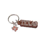 Texas Longhorn Glitter Keychain (SD092)