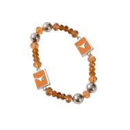 Texas Longhorn Bead & Enamel Bracelet (3331610)