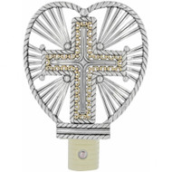 Brighton Illumination Cross Night Light (G40251)