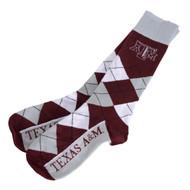 Texas A&M Argyle Lineup Socks (505-7-U34)