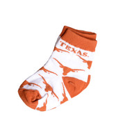 Texas Longhorn Infant All Over Logo Socks (903-U36)