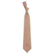 Texas Longhorn Woven Gingham Tie (5738)