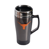 Texas Longhorn Smoked Metro Stainless Travel Mug (6140SM)