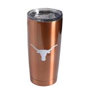 Texas Longhorn Copper Stainless Travel Mug (6820CP)