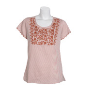 Parsley & Sage Sue Embroidered Top (19T58B1)