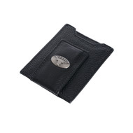 Texas Longhorn Front Pocket Wallet/Money Clip (UTX-IWT5-PBBL-BLK)