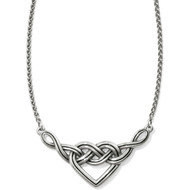 Brighton Interlok V-Heart Necklace (JL8480)