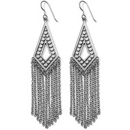 Brighton Disc Fringe French Wire Earrings (JA4860)