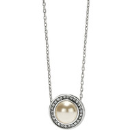 Brighton Chara Ellipse Pearl Short Necklace (JL9203)