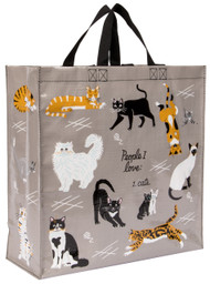 Blue Q People I Love: Cats Shopper (QA836)