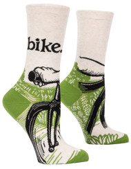 Blue Q Bike Path Crew Socks (SW514)