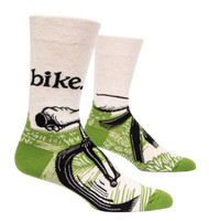 Blue Q Men's Bike Path Crew Socks (SW863)