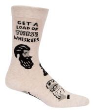 Blue Q Whiskers Crew Socks (SW855)