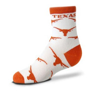 Texas Longhorn All Over Logo Child Socks (903-C)