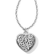 Brighton Contempo Convertible Locket Necklace (JL9840)