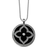 Brighton Toledo Alto Noir Convertible Double Locket Necklace (JL9223)