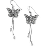 Brighton Solstice Butterfly Dangle French Wire Earrings (JA4711)