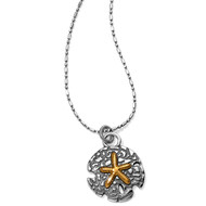 Brighton Under the Sea Petite Sand Dollar Necklace (JL9922)