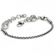 Brighton Infinity Sparkle Slide Bracelet (D31088)