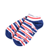 Texas Longhorn Red, White & Blue Ankle Socks (529-U)