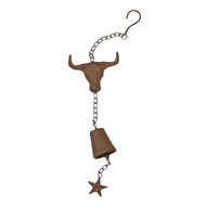 Cast Iron Steer Wind Bell (IMWCST)