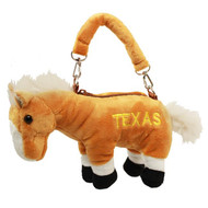 "TEXAS Plush Longhorn Purse 10"" (92032TX)"