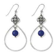 Brighton Interlok Blue French Wire Earrings (JA4233)