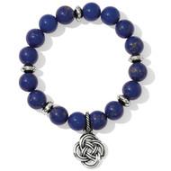 Brighton Interlok Blue Stretch Barcelet (JF5443)