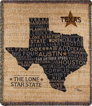 USA Texas Word Throw (ATUSTX)