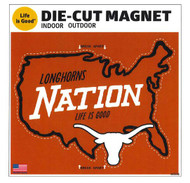 Texas Longhorn Life is Good Magnet (48348)