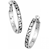 Brighton Contempo Medium Hoop Earrings (JE9720)