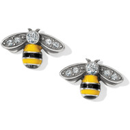 Brighton Bee Happy Mini Post Earrings (J22123)