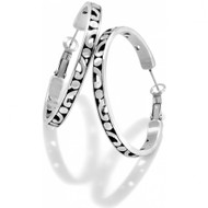 Brighton Contempo Large Hoop Earrings (JE8180)