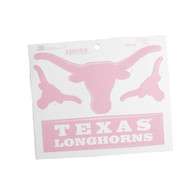 Texas Longhorn Pink Steer Stickers (TXPINK)