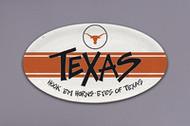 Texas Longhorn Hook 'Em Platter (22550)