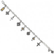 Brighton Eternity Cross Bracelet (J30610)
