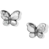 Brighton Butterfly Kiss Mini Post Earrings (JA3641)