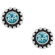 Brighton Twinkle Blue Mini Post Earrings (J2049C)