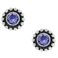 Brighton Twinkle Tanzanite Mini Post Earrings (J2049K)