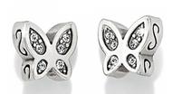 Brighton Starry Night Butterfly Mini Post Earrings (J21782)