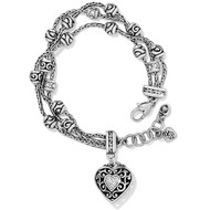 Brighton Reno Heart Bracelet (J34682)