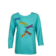 Sabaku Artwear Dragon Fly 3/4 Sleeve Tee