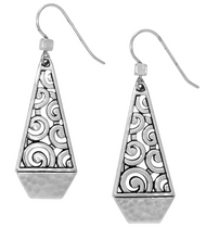 Brighton Deco Faceted French Wire Earrings (JA2990)