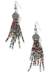 Brighton Sahuri Beaded Tassel Earrings (JA3013