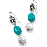 Brighton Mediterranean Turquoise French Wire Earrnigs (JA4043)